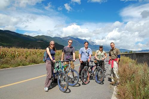 lijiang mountain biking