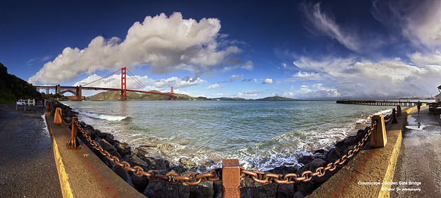 Cloudscape - Golden Gate Bridge
