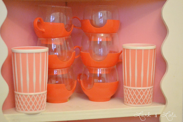 PYREX Drink Ups and vintage tumblers