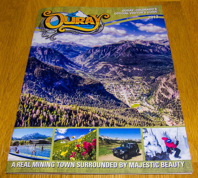 Ouray Visitor's Guide 2013 Cover