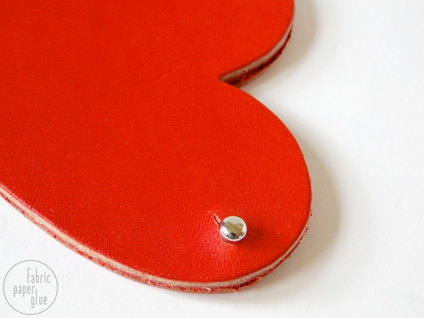 Leather Heart Coin Purse Tutorial