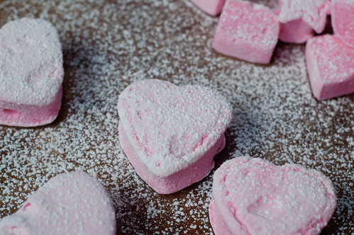 Pink marshmallows, let's make out.