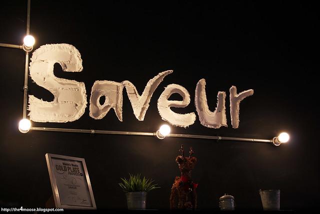 Saveur - Interior