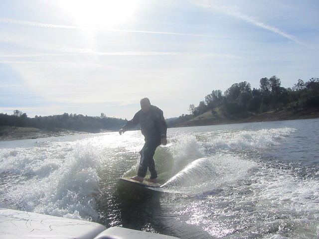 Mid January Wakesurfing 077