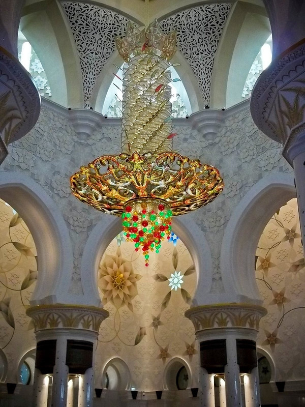 La espectacular Mezquita Sheikh Zayed en Abu Dabi 8398568497_2015596462_c