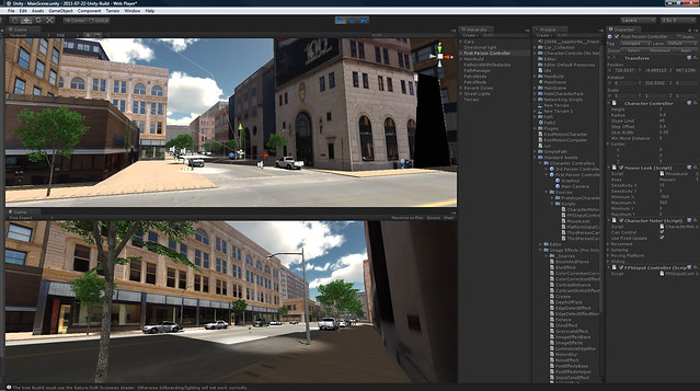 City Planning and Urban Design with Oculus Rift