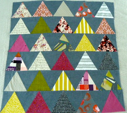 pyramids by small quilts