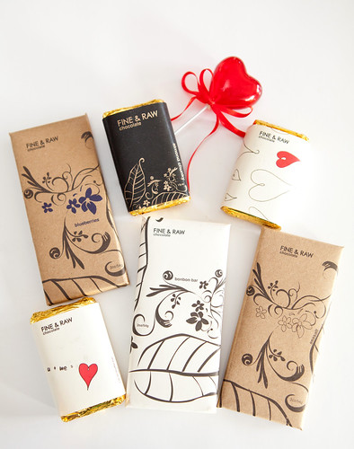 Various Fine & Raw chocolate bars - made in Brooklyn, NY