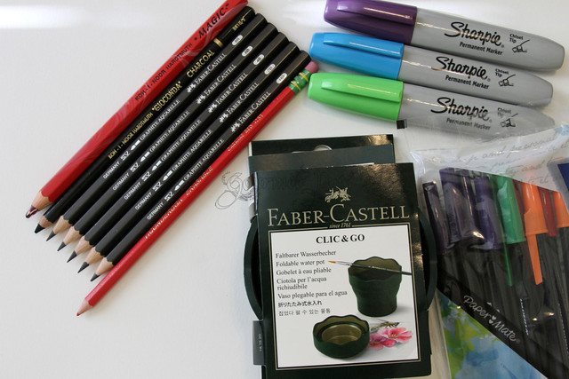 Various Goodies - Sharpie, Faber-Castell, PaperMate
