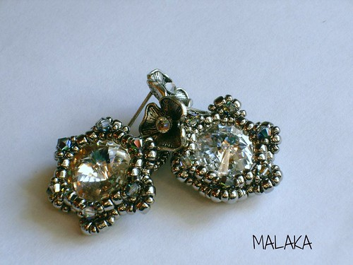 pendientes plata by Malaka65