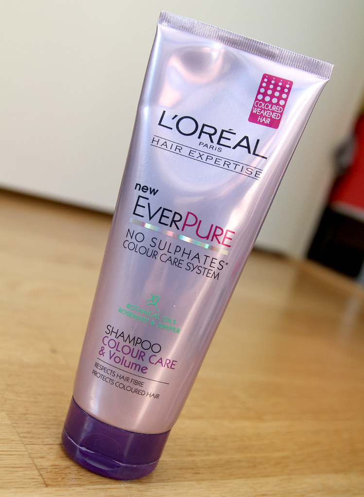 L'oréal Hair expertise Ever pure color care & volume shampoo