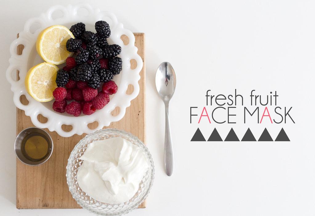 Fresh Fruit Face Mask