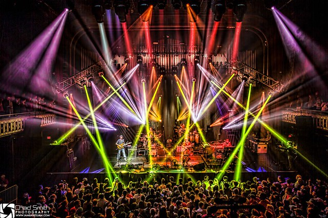 Umphrey's McGee NYE run 2012 in ATL by Chad Smith