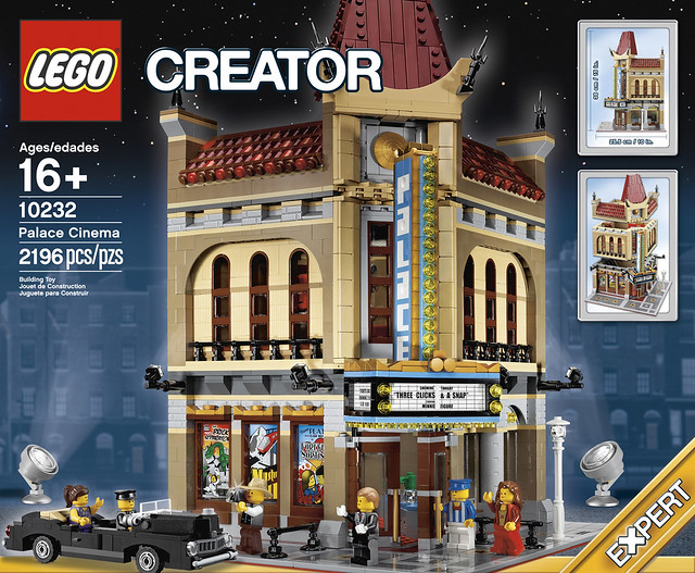 LEGO Creator Expert 10232 - Palace Cinema - Box Art Front