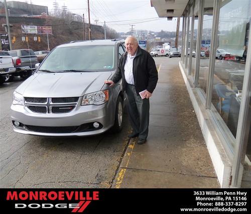 Congratulations to Robert Wiedenhoff on the 2013 Dodge Caravan by Monroeville Dodge
