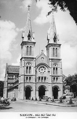 SAIGON - THE CATHEDRAL circa 1960