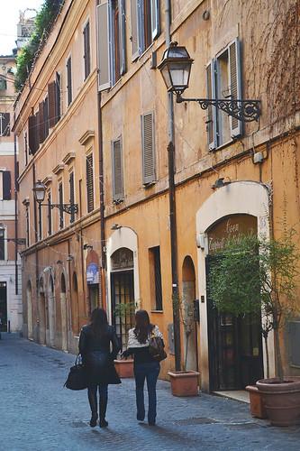 Tridente, Rome, Italy