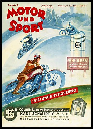 1936 Motor und Sport by bullittmcqueen