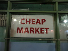 Cheap market, Chinatown