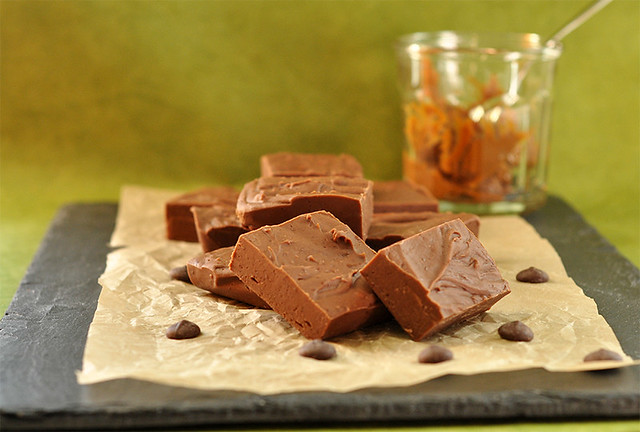 Chocolate-Dulce de Leche Fudge