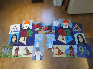 Harry Potter Quilts to date