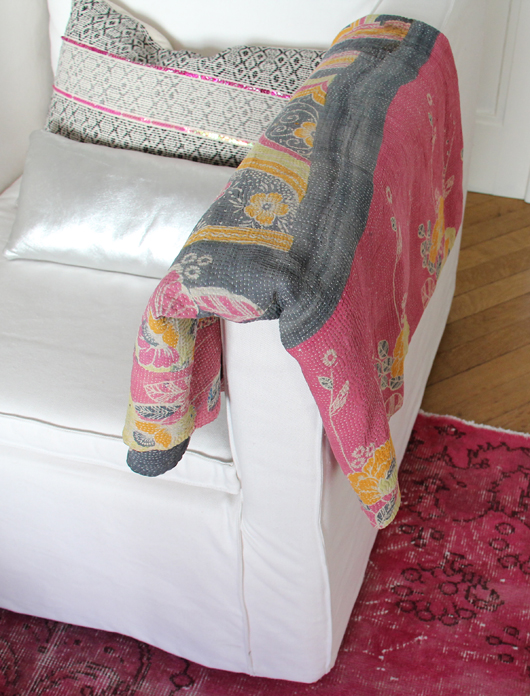 Kantha Quilts from AU Maison