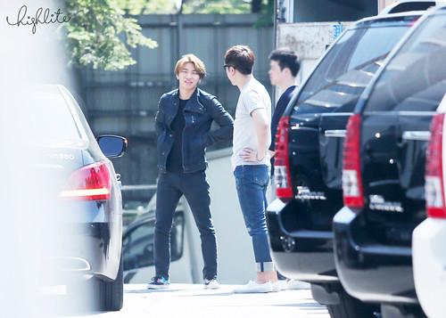 Big Bang - SBS Inkigayo - 24may2015 - Arriving - Dae Sung - High Lite - 03