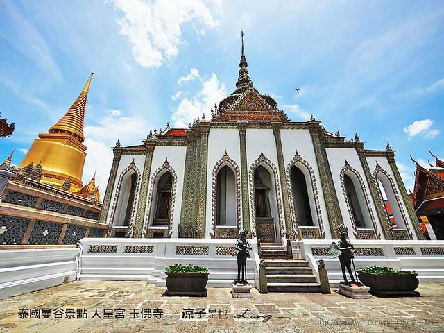 泰國曼谷景點 大皇宮 玉佛寺  50