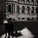 Smoking, Town Hall Square.. by Kent Johnson
