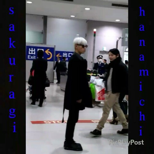 Big Bang - Kansai Airport - 15jan2015 - TOP - sakuragi_haramichi - 01