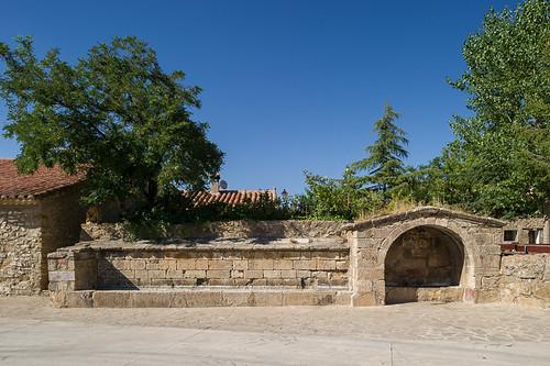 fuente y abrevadero, Jabaloyas (Teruel)