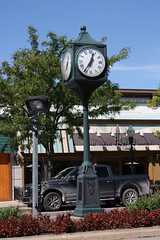 Clock, Plymouth, MI