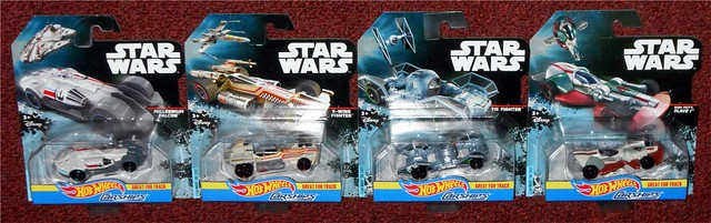 Mattel - Star Wars Carships