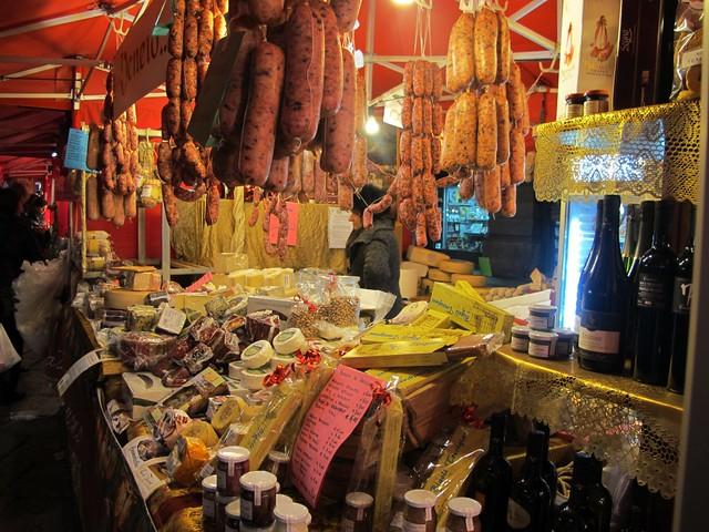 Milan christmas market food flickr photo sharing for Milan food market