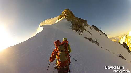 Chamonix Mont-Blanc - Reaching the Summit