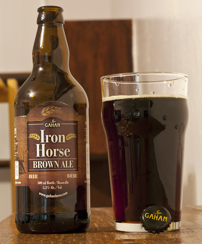 Gahan Iron Horse Brown Ale 9/24 by Cody La Bière
