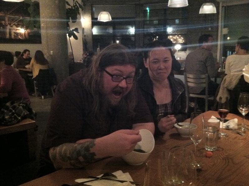 Drama over soup bowls