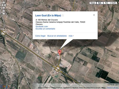 Leen Guel on Google Maps @ Oaxaca 12.2012