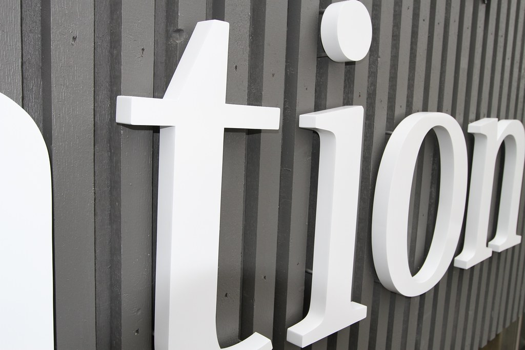 White Metal Letters Pleasing Fabricated Stainless Steel Letters  Impact Signs Inspiration