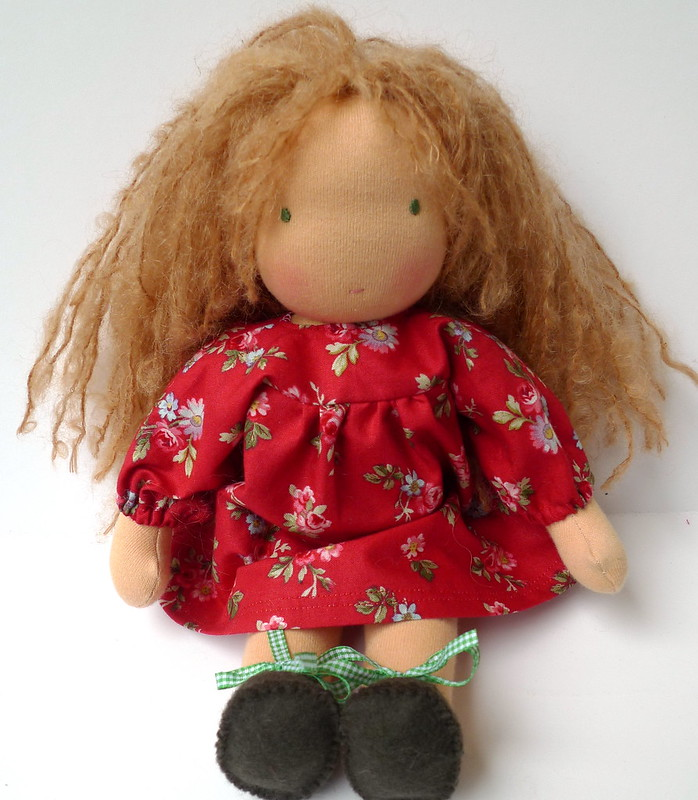 Callie in her winter dress