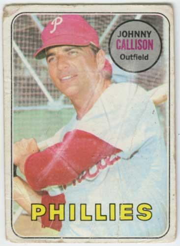 1969 Topps Johnny Callison