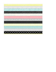 4 A2 card size bold Christmas stripes Horizontal (subtle)