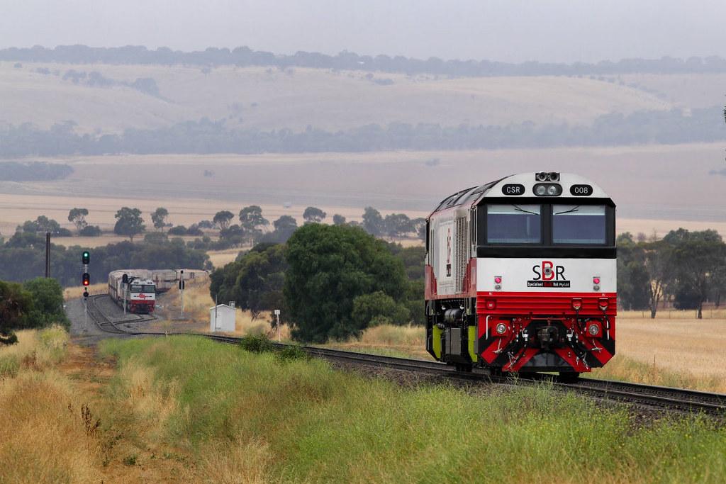 CSR008 Light Engine Callington 14 12 2012 by Daven Walters