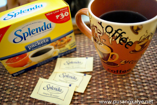 Splenda _artificial sweetener