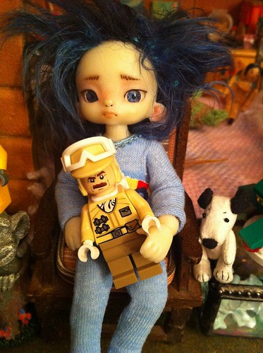 ByGBy w/ his Hoth Rebel Trooper Minifig by DollZWize