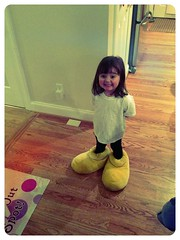 Privacy policy, Ava rocks the Mickey slippers