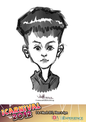 digital live caricature for iCarnival 2012  (IDA) - Day 2 - 10