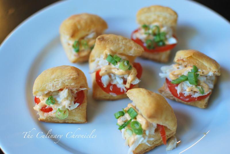 Cajun Crab Puffs