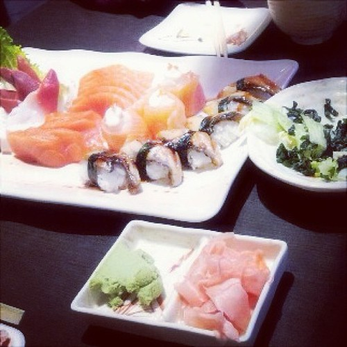 #sushi #AYCE is always nice to have~