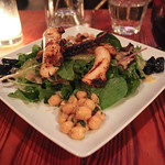North African Cuisine: Charred Octopus and Merguez